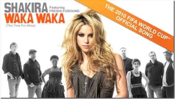 Unbuttoning Shakira S Waka Waka Jeffz Buzz